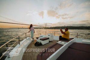 sunset bosphorus